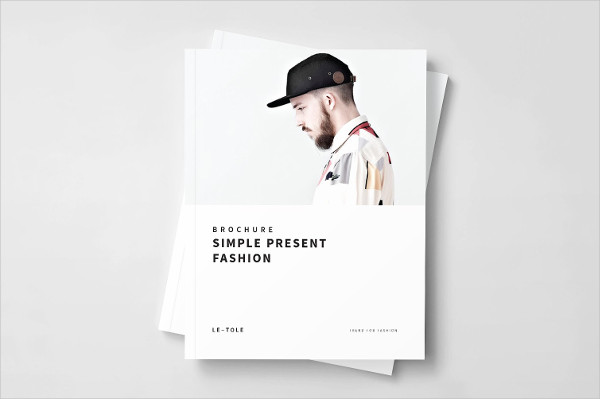 Minimal Fashion Agency Brochure Template