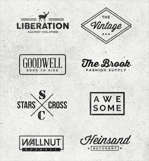 Minimal Logo or Badges Bundle