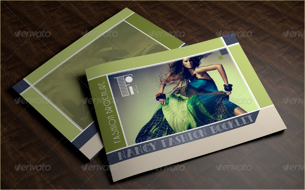 Clean Fashion Booklet or Brochure Template