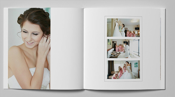 Classic Wedding Photo Album Template