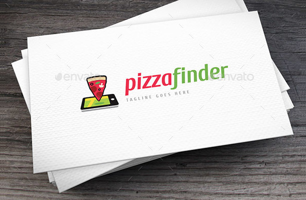 Pizza Finder Logo Template