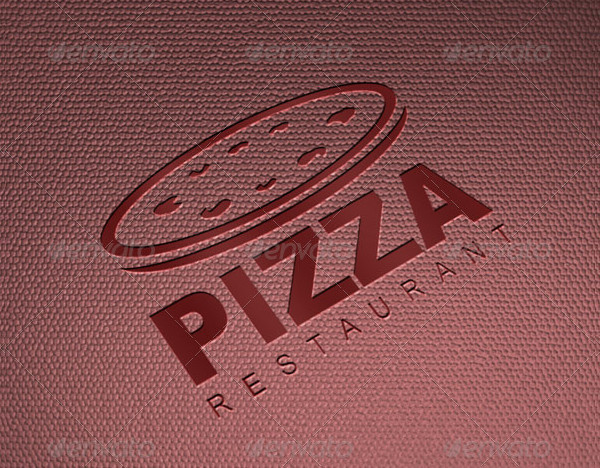 Pizza Restaurant Logo Template
