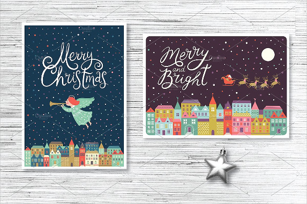 Printable Christmas Card Templates