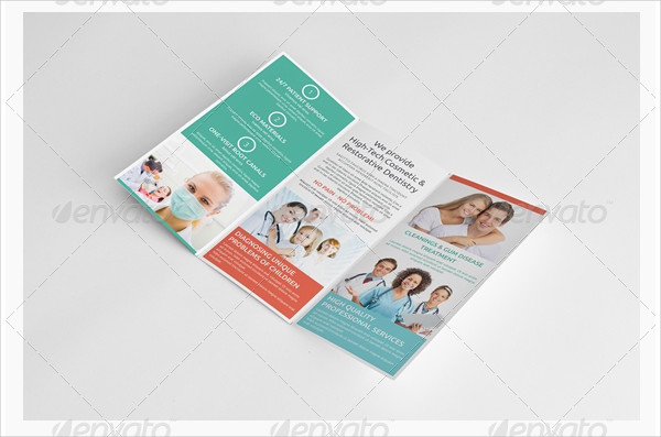 Professional Dental Brochure Template