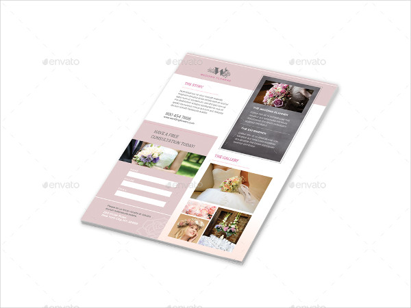 Professional Wedding Planner Flyer Templates