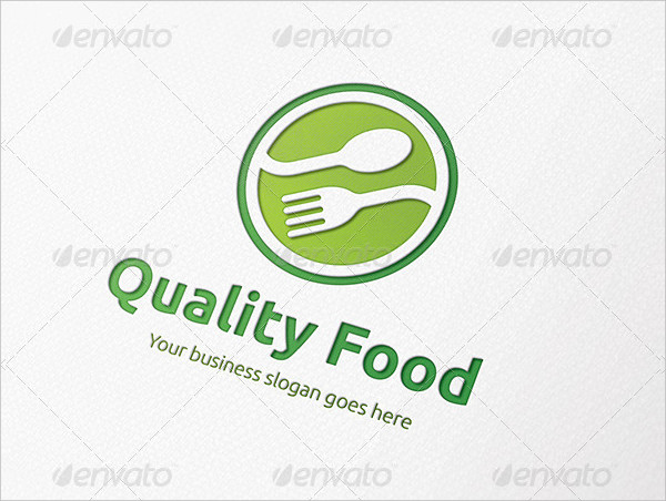 Quality Food Logo Template