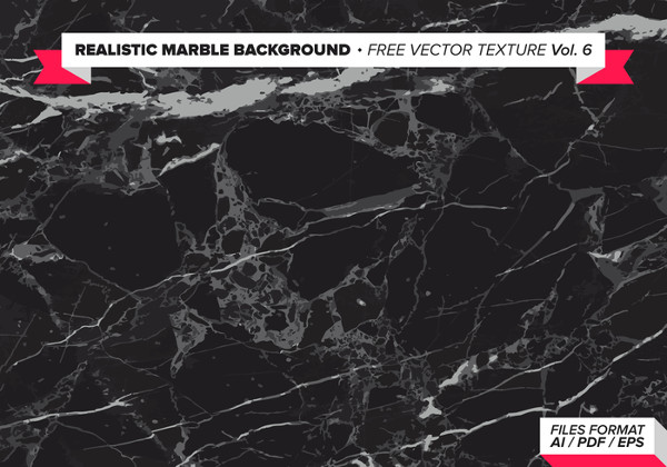 Realistic Marble Background Free Vector Texture