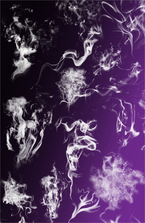 25 Hi Res Smoke Brushes