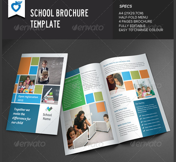 25 school brochure templates free premium download for School brochure template free