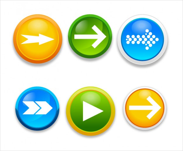 Arrow Free Buttons Download