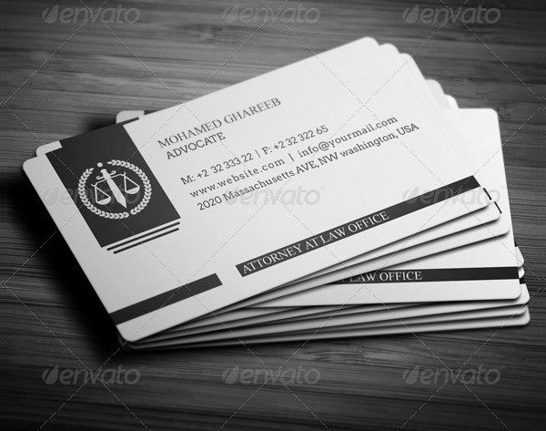 23 lawyer business card templates free amp premium download
