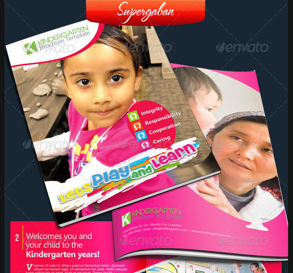 School Brochure Templates  Free Psd Ai Eps Format Download