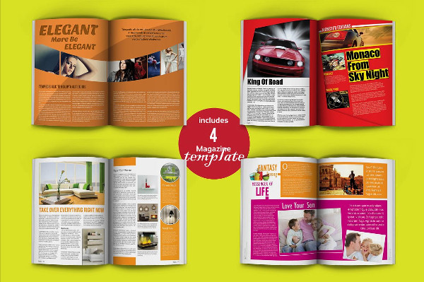 Best Bundle Creative Magazine Template