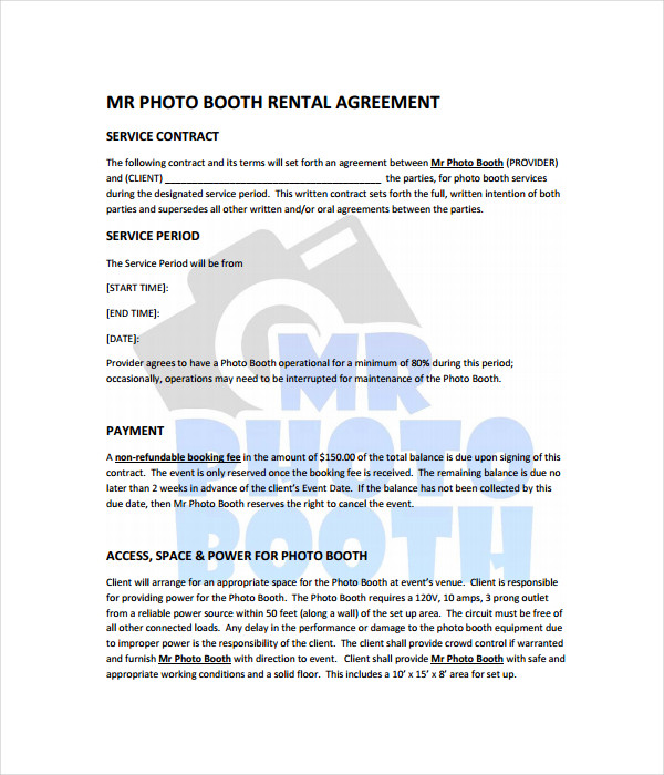 Rental Agreements - 11+ Free Word, Pdf Documents Download