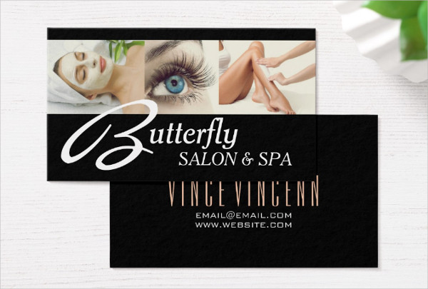 23 spa salon business card templates free premium for A step ahead salon