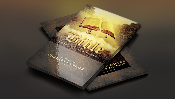 25 church business card templates free premium download 25 church business cards wajeb Images