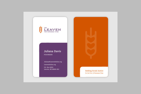 Church Leaven Business Card