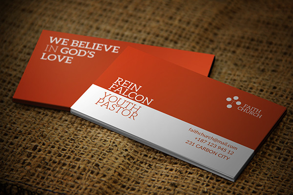 Faith Church Business Card