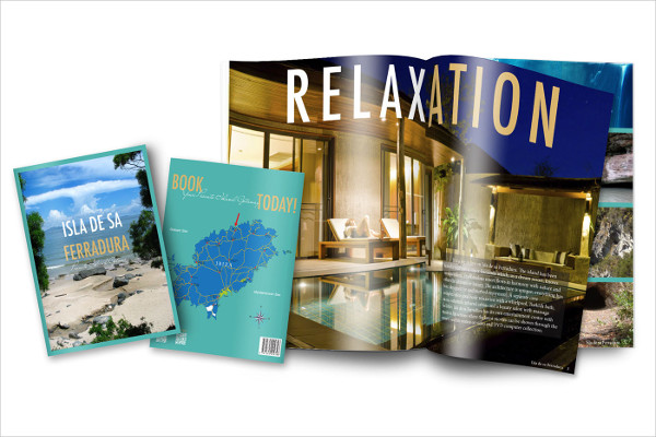 Clean Travel Magazine Template