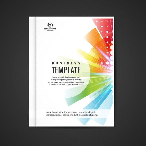Colorful Business Booklet Free