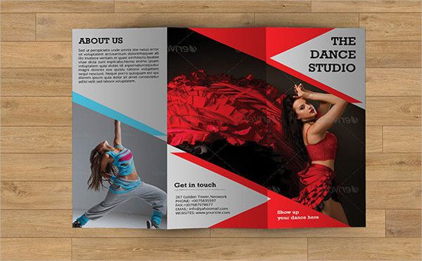 15  dance studio brochure templates