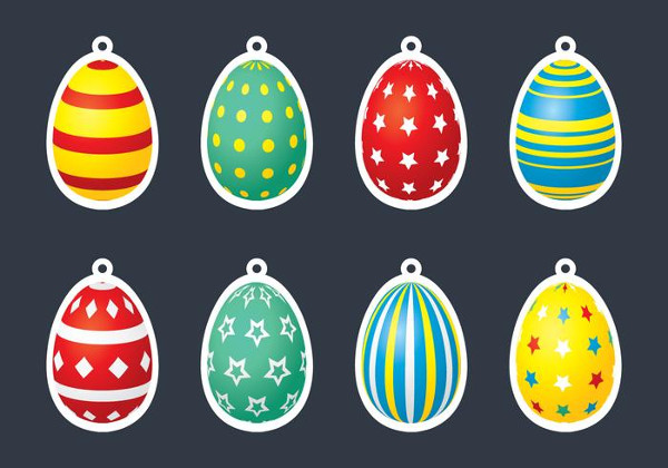 Egg Gift Tag Template Free Download