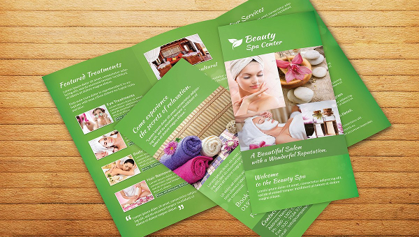 Spa Brochure Templates Free Premium Download - Free spa brochure templates