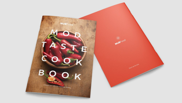 Cookbook Template   Free Psd Ai EpsVector Format Download