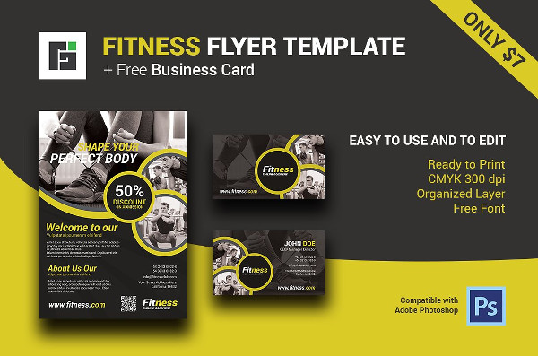 23 Fitness Flyer Templates Free Premium Download – Free Fitness Flyer Templates