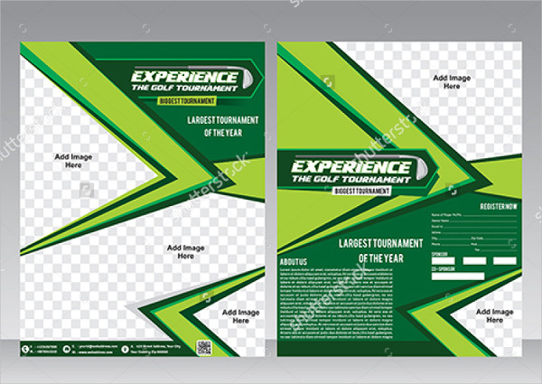 Golf Flyer Design Template