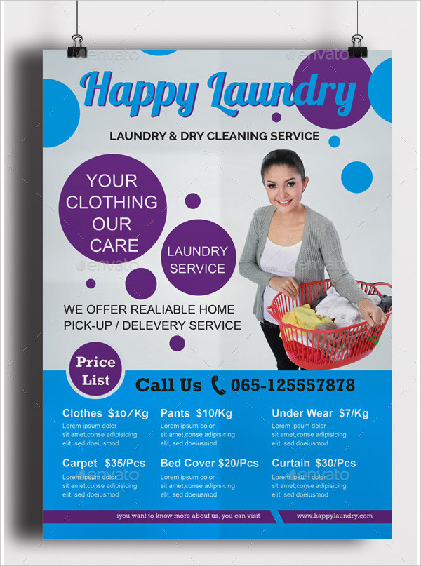 19 laundry flyer templates free premium download for Laundry flyers templates