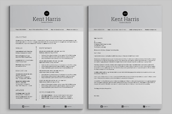 21 sample one page resume templates free premium download