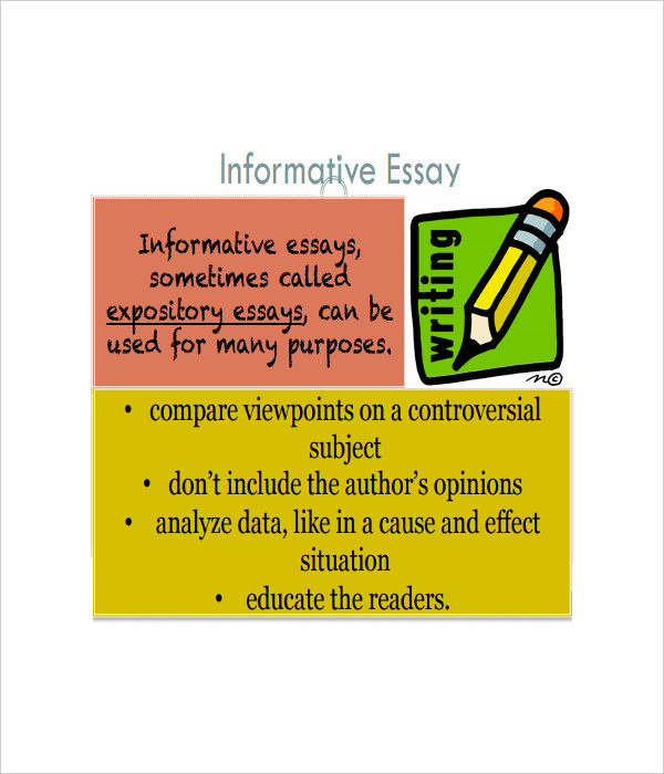 Informative Essay Outline Sample