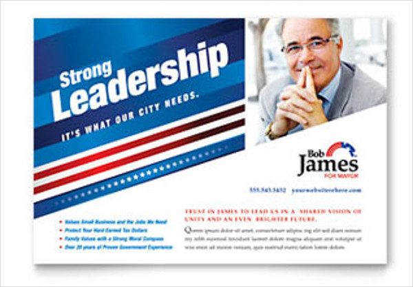 21 political flyer templates free psd ai eps format for Political brochure templates