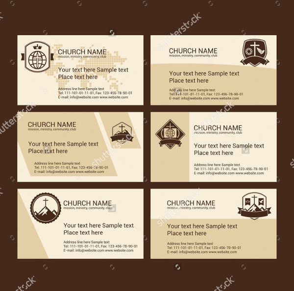 Church Ministry Business Card