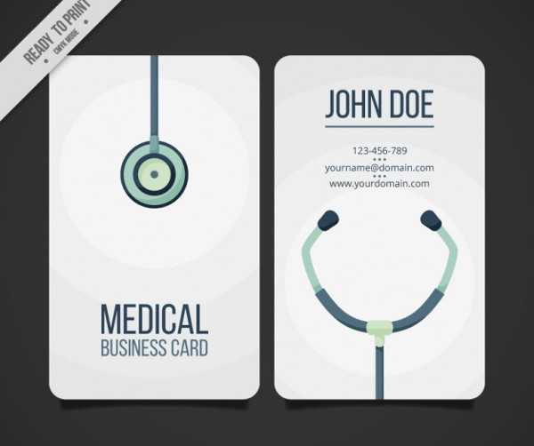 25 medical business card templates free premium download medical business card template free download wajeb Image collections