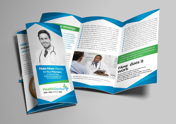 29 medical brochure templates free premium download for Insurance brochure template