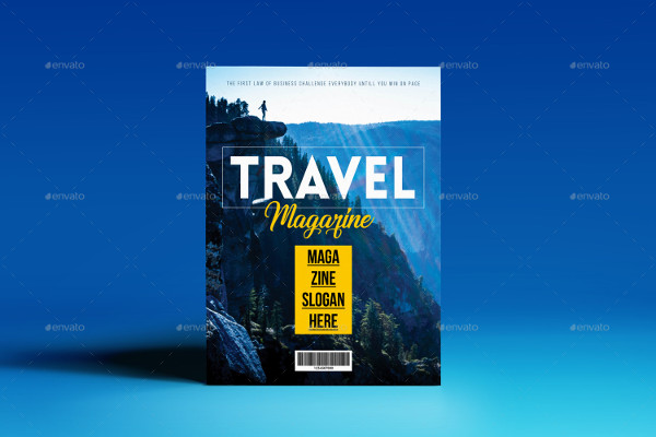 Modern Travel Magazine Templates