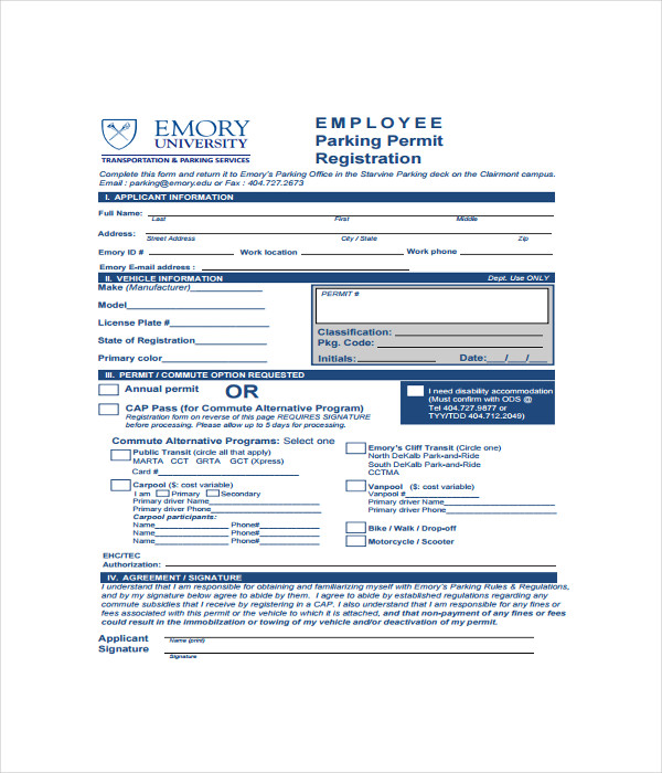 Registration Form Templates   Free Word Pdf Documents Download