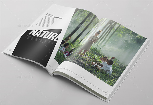 Photography or Travel Magazine Template