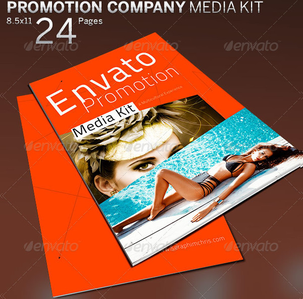 Promotion Company Booklet Template