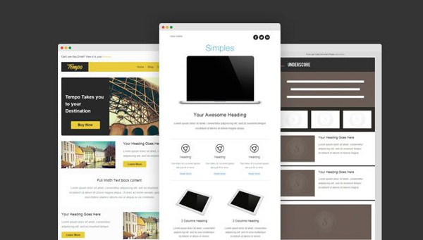 Responsive Email Templates Free Download