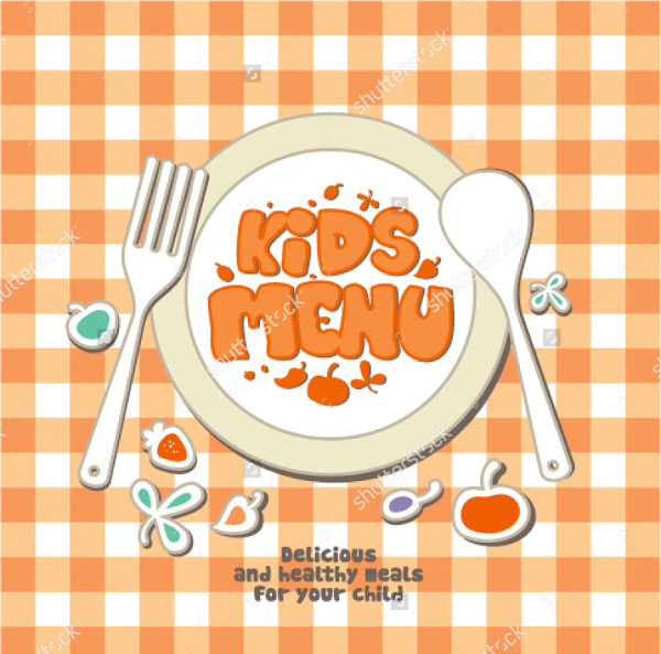 Kids Menu Template 25 Free PSD AI EPS Vector Format Download – Menu Templates for Kids