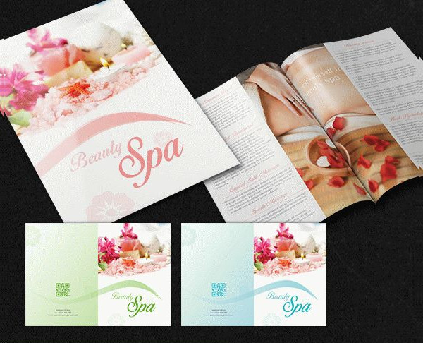 Free Beauty Spa Brochure Pack