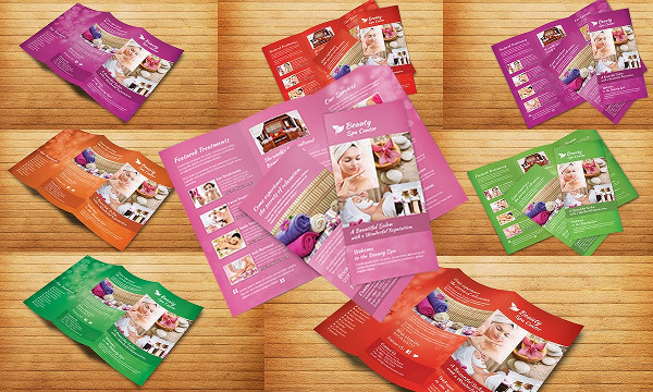 Spa Marketing Brochure Template