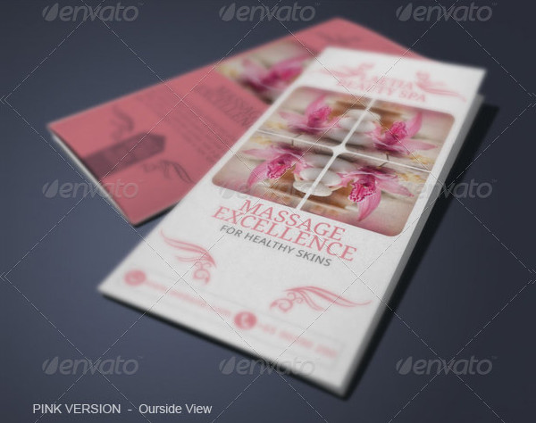 Spa Parlour Brochure Template