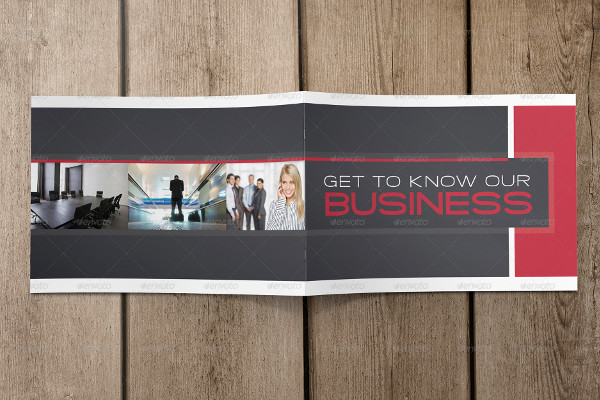 Stylish Business Booklet Template