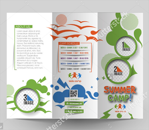 21 Latest Camp Brochure Templates Web Creative All Nature Camping