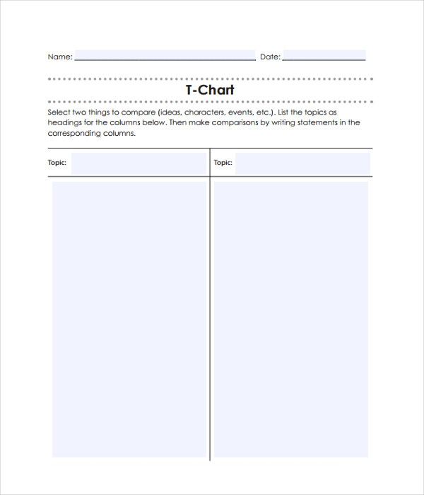 T Chart Template. Beginning Of Year Activity: Student Selfies Best