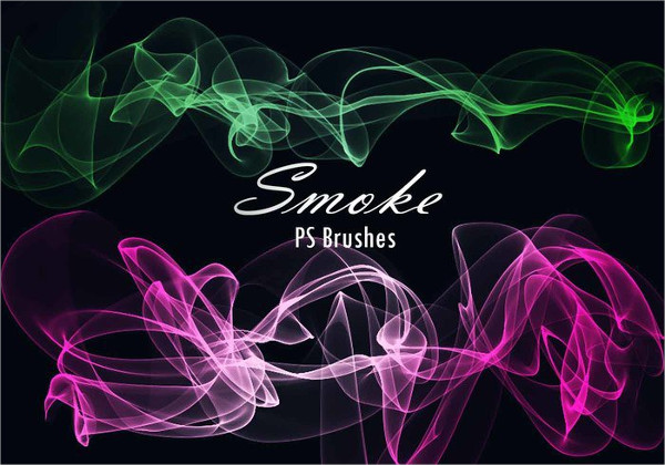 Transparent Smoke PS Brushes Free